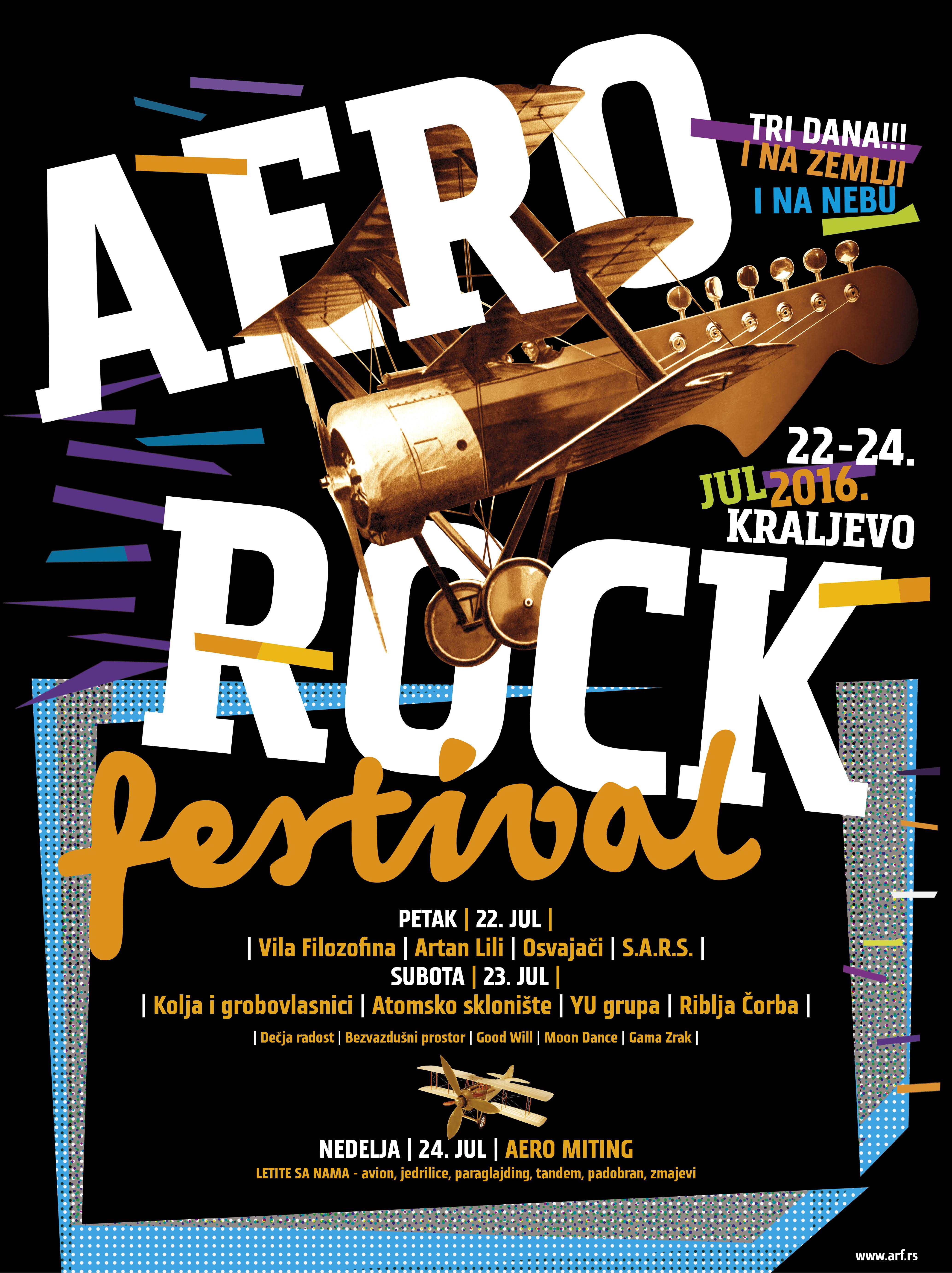 Aero Rock Festival Kraljevo